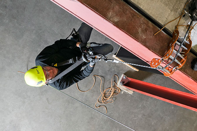 Training courses personal fall protection rescue