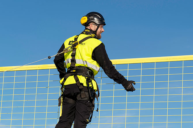 personal fall protection harness