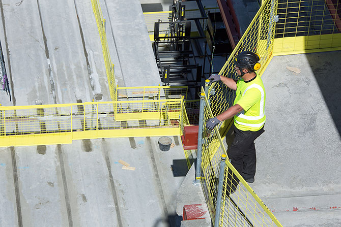 Fall protection safety check