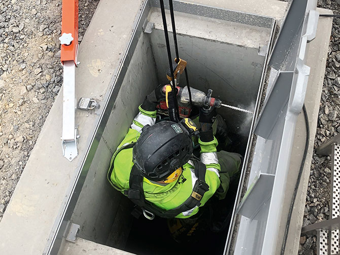 Training courses personal fall protection confined spaces